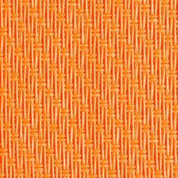 Orangener ZipMa Senkrechtmarkisen Stoff