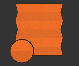 Plissee in orange